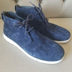 UGG Boots Blue Suede 9.5 Men Boys NWT